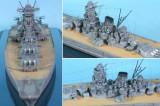 1/700 戦艦大和 新造時